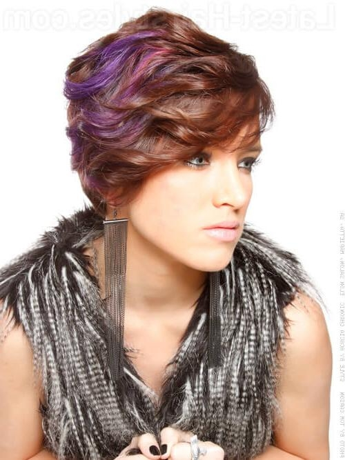 23 Short Haircuts For Thick Hair That People Are Obsessing Over In For Short Hairstyles Wavy Thick Hair (View 2 of 20)