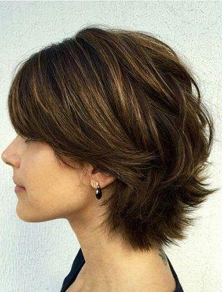 233 Best Over 40 Hairstyles Images On Pinterest | Hairstyles Throughout Short Hairstyles For Thick Hair Over  (View 7 of 20)