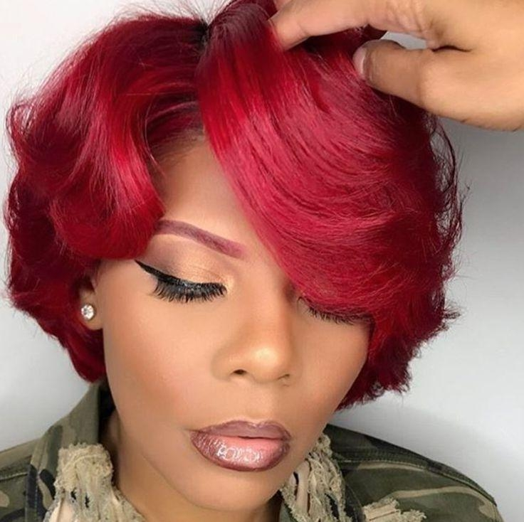 2338 Best Cute Short Hair Styles Images On Pinterest   Braids In Red And Black Short Hairstyles (View 2 of 20)