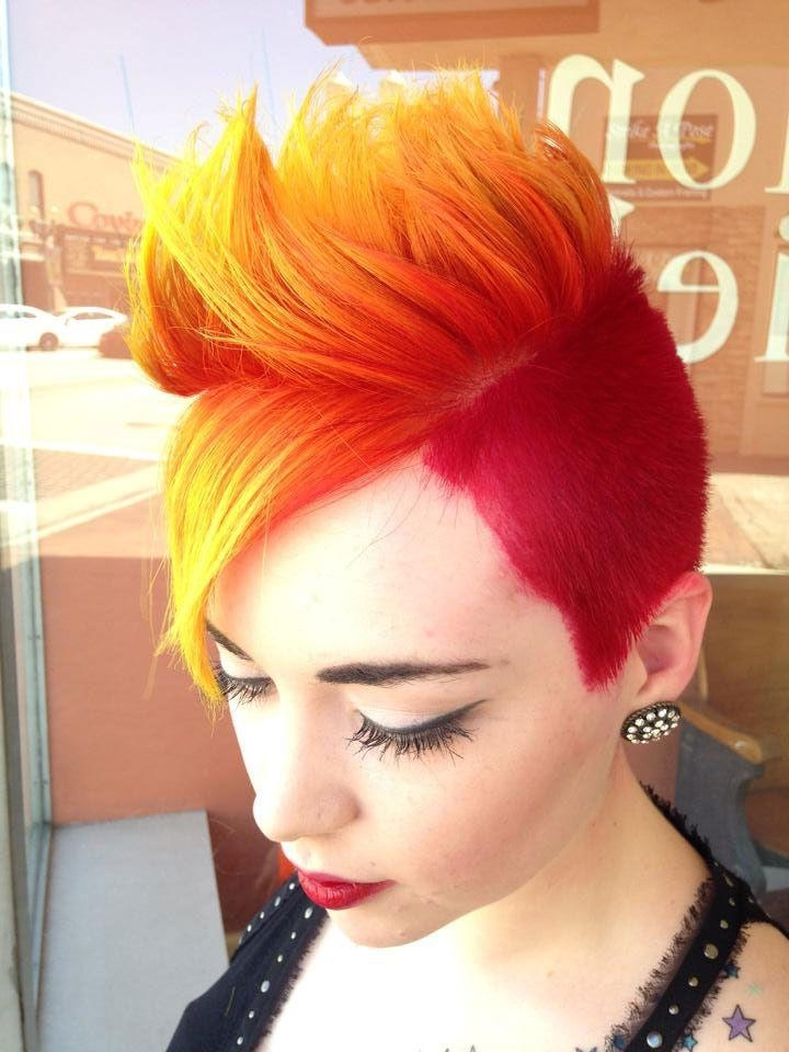 24 Best Hair Images On Pinterest | Hairstyles, Braids And Colorful Pertaining To Fire Red Short Hairstyles (View 3 of 20)