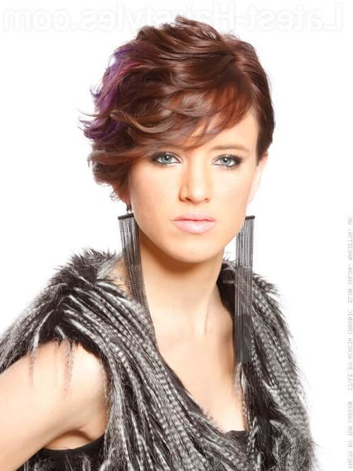Featured Photo of Short Haircuts For Wavy Thick Hair
