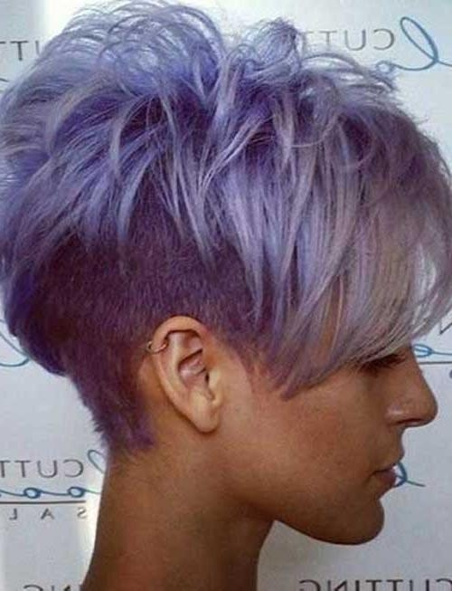 25 Appealing Short Hairstyles For Black Women – Hairstyle For Women In Purple And Black Short Hairstyles (View 3 of 20)