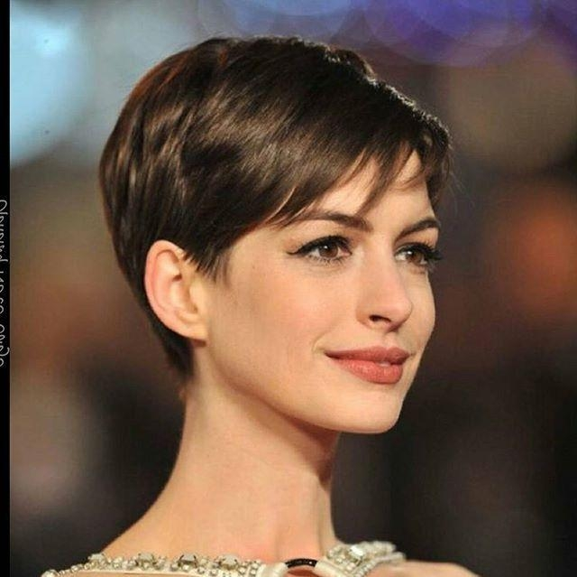 25+ Beautiful Anne Hathaway Pixie Ideas On Pinterest | Anne Intended For Anne Hathaway Short Haircuts (View 14 of 20)