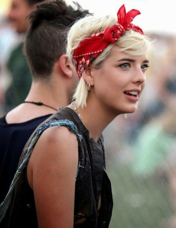 25+ Beautiful Cute Bandana Hairstyles Ideas On Pinterest Inside Short Hairstyles With Bandanas (View 8 of 20)