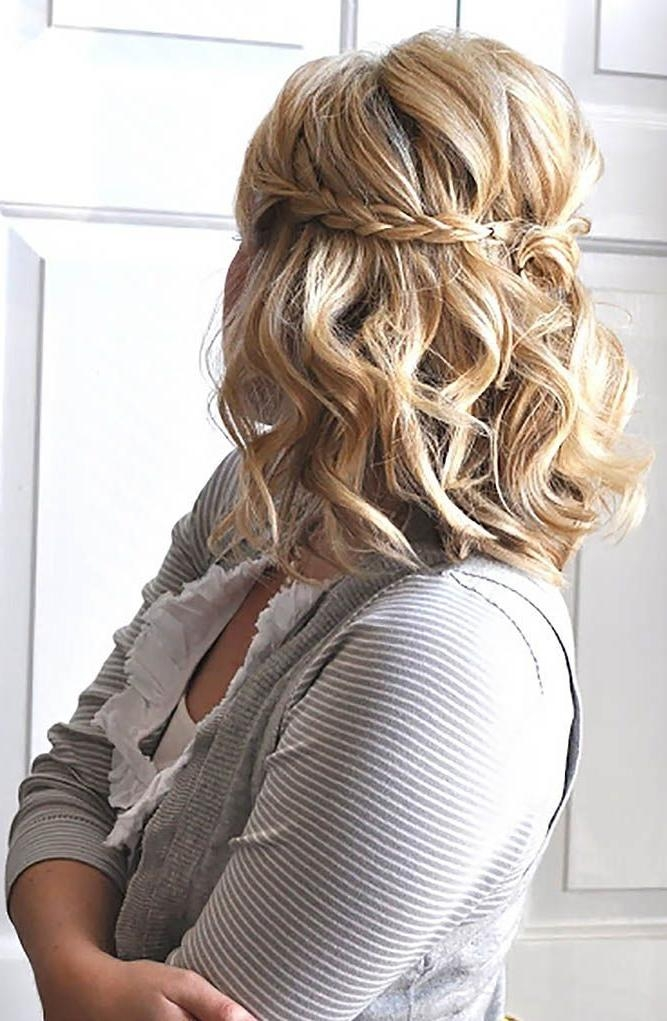 25+ Beautiful Short Bridesmaid Hairstyles Ideas On Pinterest Within Short Hairstyles For Weddings For Bridesmaids (View 5 of 20)
