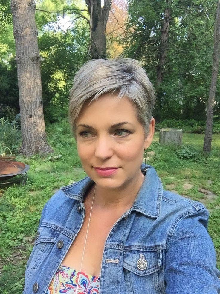25+ Beautiful Short Gray Hairstyles Ideas On Pinterest | Short For Short Haircuts For Salt And Pepper Hair (View 8 of 20)