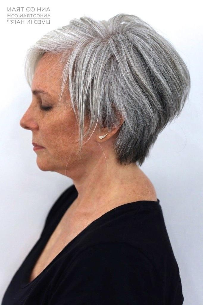 Short Grey Hairstyle