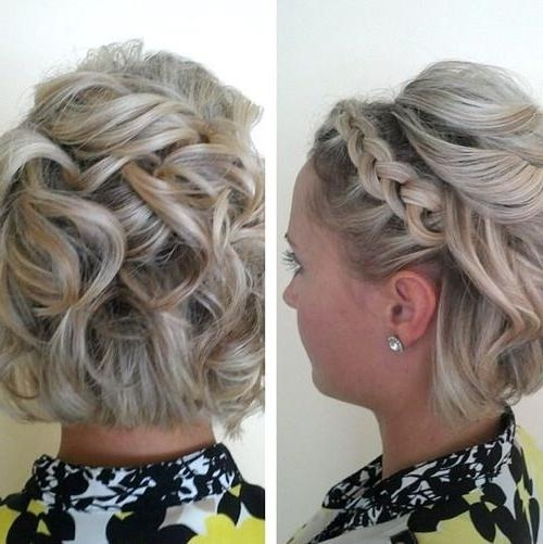 25+ Beautiful Short Hair Updo Ideas On Pinterest | Short Hair Intended For Updo Short Hairstyles (View 3 of 20)