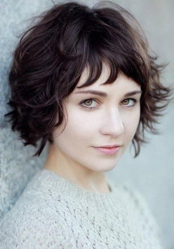 Featured Photo of Short Short Haircuts For Round Faces