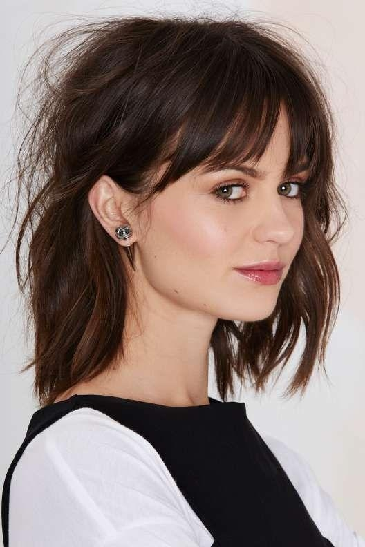 25+ Beautiful Wispy Bangs Ideas On Pinterest | Wispy Fringe Bangs With Short Hairstyles With Wispy Bangs (View 8 of 20)