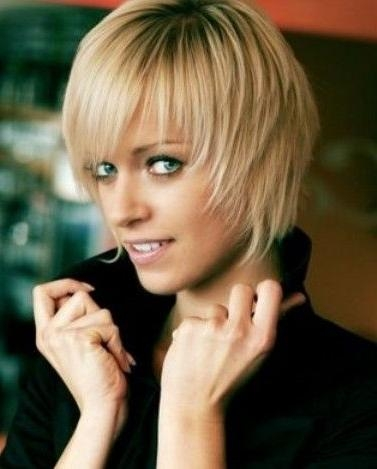 25 Best Bangs – Short Hairstyles With Bangs Images On Pinterest With Layered Short Hairstyles With Bangs (View 5 of 20)