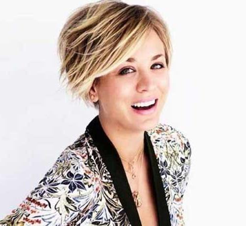 25 Best Bob Haircuts For Girls | Bob Hairstyles 2017 – Short Within Kaley Cuoco New Short Haircuts (View 5 of 20)