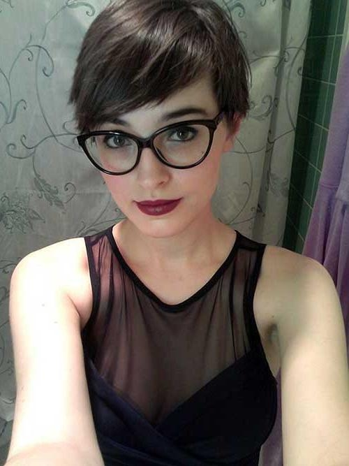25 Best Short Pixie Cuts | Short Hairstyles 2016 – 2017 | Most Regarding Short Haircuts With Glasses (View 3 of 20)