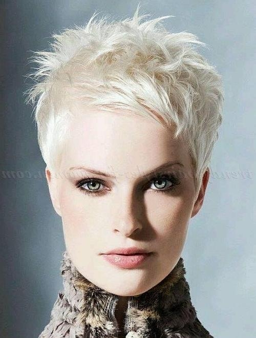 25+ Gorgeous Blonde Pixie Hairstyles Ideas On Pinterest | Blonde With Cropped Short Hairstyles (View 4 of 20)