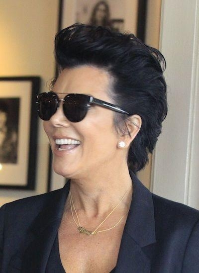 25+ Gorgeous Kris Jenner Haircut Ideas On Pinterest | Kris Jenner With Kris Jenner Short Hairstyles (View 11 of 20)