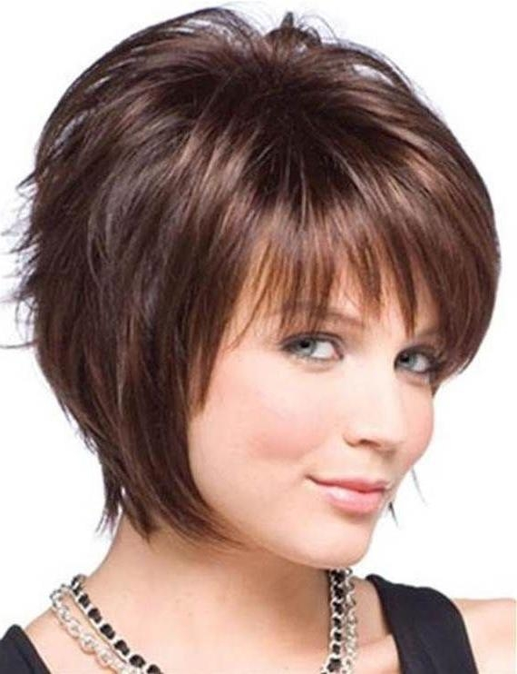 25 Gorgeous Short Hairstyles For Women Over 50 – Hottest Haircuts Within Short Hairstyles For Round Face And Fine Hair (View 3 of 20)