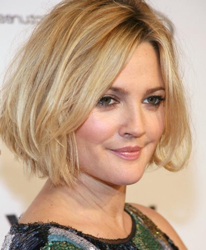 25 Hairstyles And Haircuts For Round Faces In 2016 – The Xerxes Pertaining To Short Hairstyles For Heavy Round Faces (View 2 of 20)