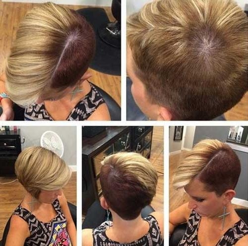 25 Images For Short Haircuts | Short Hairstyles 2016 – 2017 | Most Inside Short Haircuts With Shaved Sides (View 18 of 20)