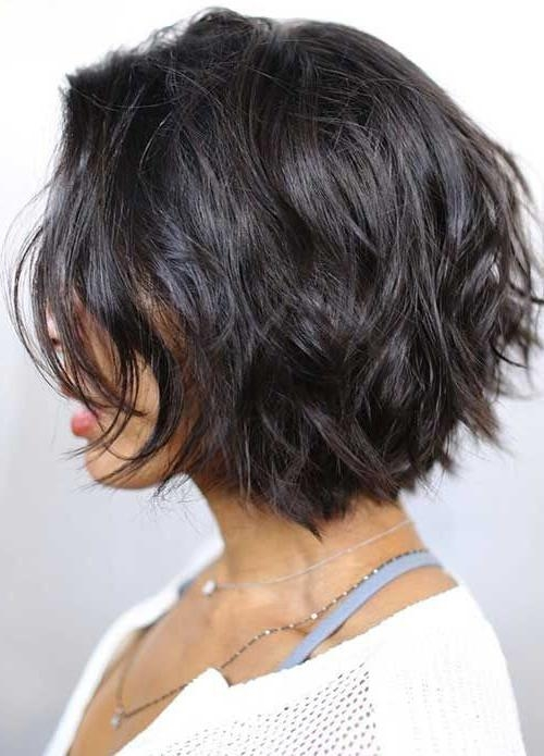 25 Latest Hottest Short Hairstyles For Thick Hair | Styles Weekly Inside Choppy Short Hairstyles For Thick Hair (View 3 of 20)