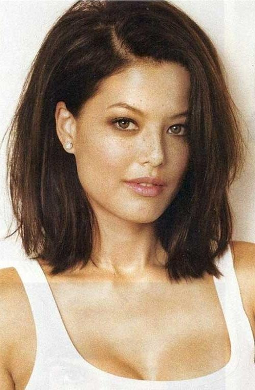 25 Perfect Hairstyles To Embrace Your Thick Hair – The Xerxes Inside Short Haircuts For Thick Straight Hair (View 10 of 20)