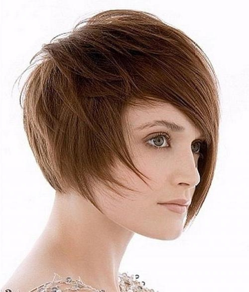 25 Pictures Of Trendy Short Haircuts 2012 2013 | Short Hairstyles With Trendy Short Haircuts For Round Faces (View 5 of 20)