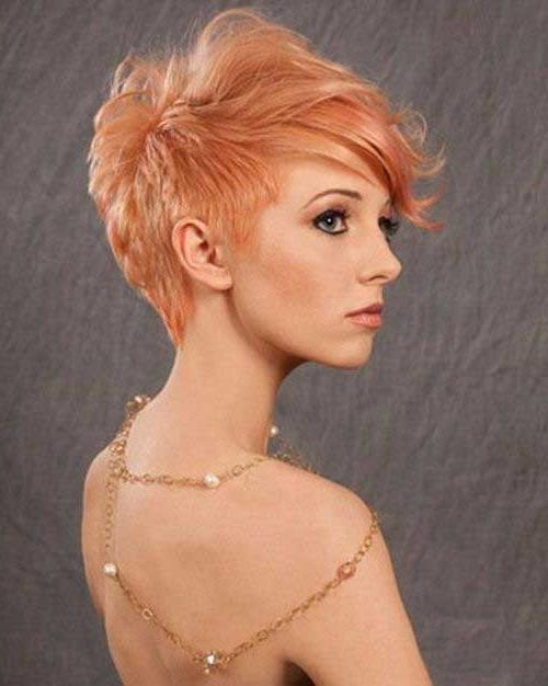 25 Popular Layered Short Haircuts | Short Hairstyles 2016 – 2017 With Regard To Strawberry Blonde Short Haircuts (View 10 of 20)