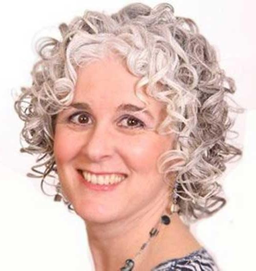 25 Short And Curly Hairstyles | Short Hairstyles 2016 – 2017 Inside Short Haircuts For Older Women With Curly Hair (View 13 of 20)