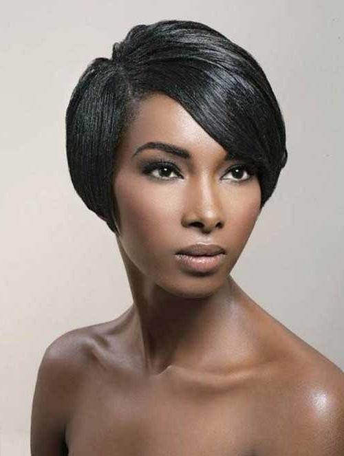 25 Short Bob Hairstyles For Black Women | Bob Hairstyles 2017 Regarding Black Bob Short Hairstyles (View 5 of 20)