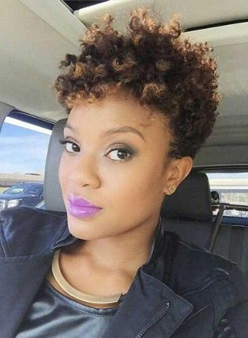 25 Short Curly Afro Hairstyles | Short Hairstyles 2016 – 2017 Intended For Afro Short Haircuts (View 7 of 20)