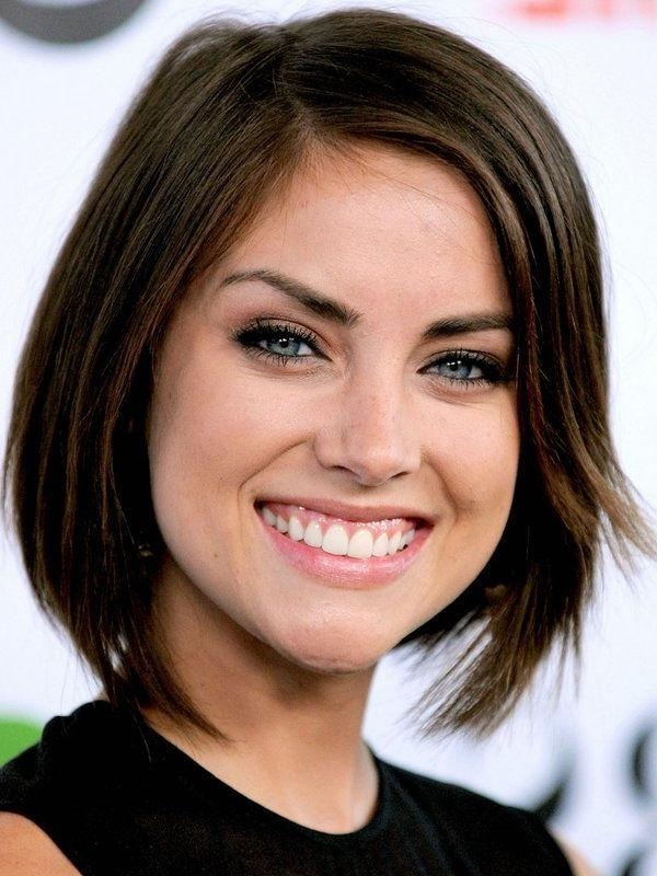 Photo Gallery Of Cute Short Haircuts For Heart Shaped Faces Viewing