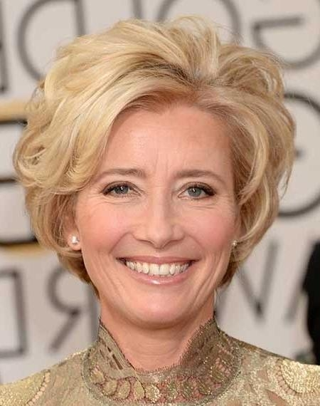 Photo Gallery of Short Haircuts For Older Women With Curly Hair ...