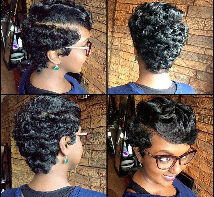 25+ Trending African American Haircuts Ideas On Pinterest | Short Inside Short Hairstyles For African American Hair (View 3 of 20)