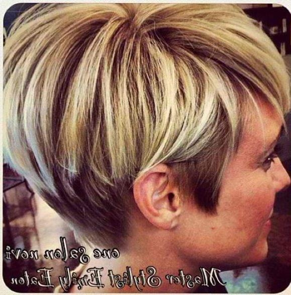 20 Best Ideas Of Short Hairstyles And Highlights