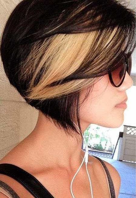 25+ Trending Highlights For Short Hair Ideas On Pinterest Inside Short Hairstyles And Highlights (View 5 of 20)