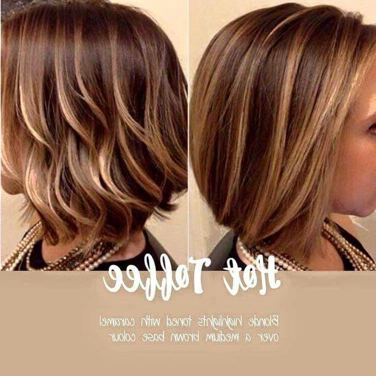 Photo Gallery of Short Hairstyles And Highlights (Viewing 2 of 20 ...