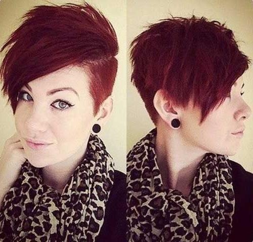 25+ Trending Shaved Pixie Cut Ideas On Pinterest | Short Undercut Inside Short Haircuts With One Side Shaved (View 5 of 20)