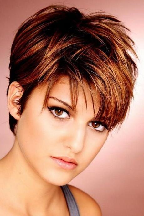 25+ Trending Short Choppy Haircuts Ideas On Pinterest | Choppy Regarding Ladies Short Hairstyles With Fringe (View 4 of 20)