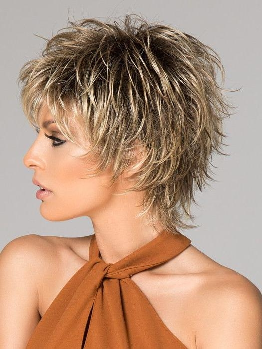 20 Ideas of Choppy Short Hairstyles