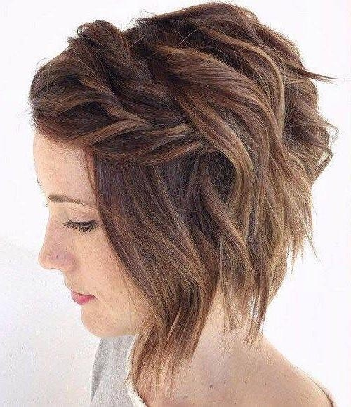 25+ Trending Short Hair Bridesmaid Ideas On Pinterest | Short Hair Pertaining To Short Hairstyles For Bridesmaids (View 8 of 20)