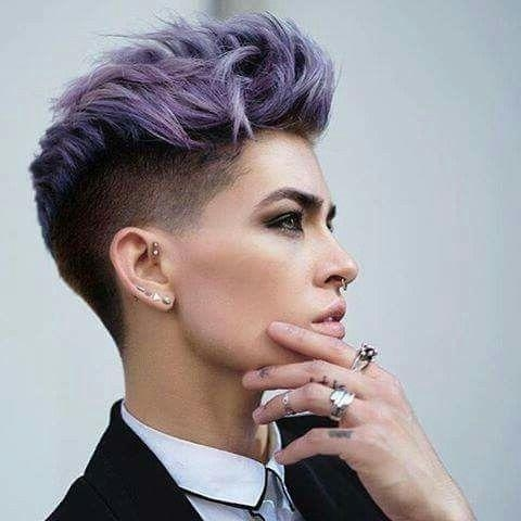 25+ Trending Short Hair Shaved Sides Ideas On Pinterest | Shaved Inside Short Hairstyles One Side Shaved (View 6 of 20)