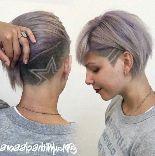 25+ Trending Short Shaved Hairstyles Ideas On Pinterest | Undercut Pertaining To Short Hairstyles With Shaved Sides For Women (View 12 of 20)
