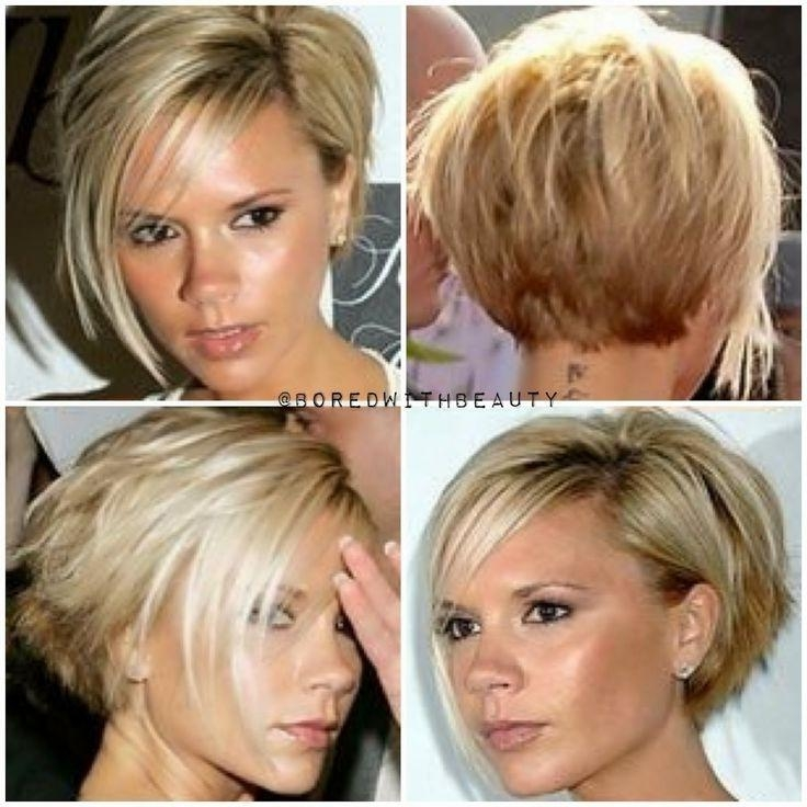 25+ Trending Victoria Beckham Short Hair Ideas On Pinterest With Regard To Victoria Beckham Short Hairstyles (View 7 of 20)