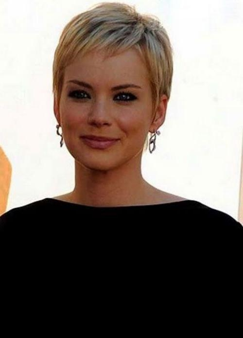 25+ Unique Crop Haircut Ideas On Pinterest | Short Haircuts, Pixie Throughout Feminine Short Hairstyles For Women (View 4 of 20)