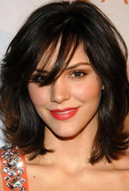Featured Photo of Short Haircuts For Big Round Face