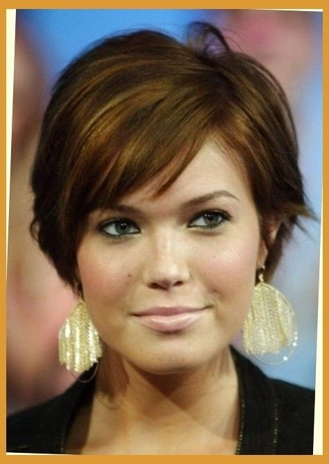 25+ Unique Haircuts For Fat Faces Ideas On Pinterest | Short For Short Hairstyles For Full Round Faces (View 4 of 20)