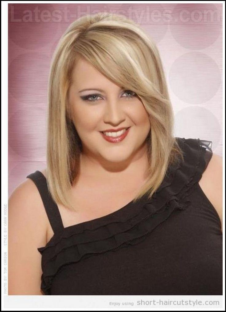 25+ Unique Haircuts For Fat Faces Ideas On Pinterest | Short Within Short Hairstyles For Obese Faces (View 11 of 20)