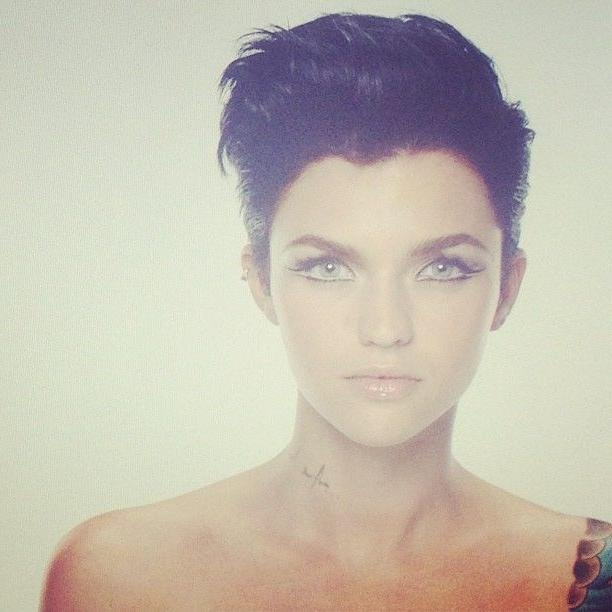 25+ Unique Ruby Rose Hair Ideas On Pinterest | Ruby Rose, Woman Pertaining To Ruby Rose Short Hairstyles (View 14 of 20)