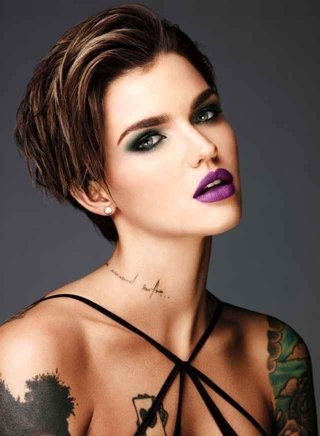 25+ Unique Ruby Rose Hair Ideas On Pinterest | Ruby Rose, Woman Pertaining To Ruby Rose Short Hairstyles (View 5 of 20)