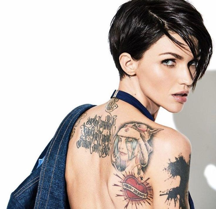 25+ Unique Ruby Rose Hair Ideas On Pinterest | Ruby Rose, Woman Regarding Ruby Rose Short Hairstyles (View 5 of 20)