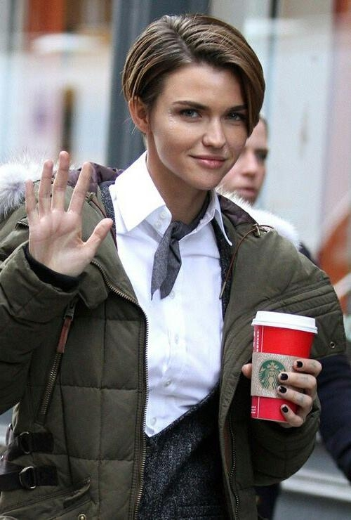 25+ Unique Ruby Rose Hair Ideas On Pinterest | Ruby Rose, Woman Regarding Ruby Rose Short Hairstyles (View 4 of 20)